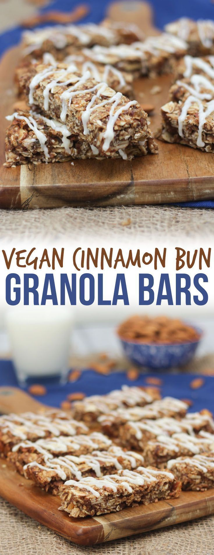 These Vegan Cinnamon Bun Chewy Granola Bars are the perfect Healthy Gluten Free and Plant Based Snack to help get you through the 3 PM energy dip. Vegan Cinnamon Bun Chewy Granola Bars are the perfect Healthy Gluten Free and Plant Based Snack to help get you through the 3 PM energy dip.