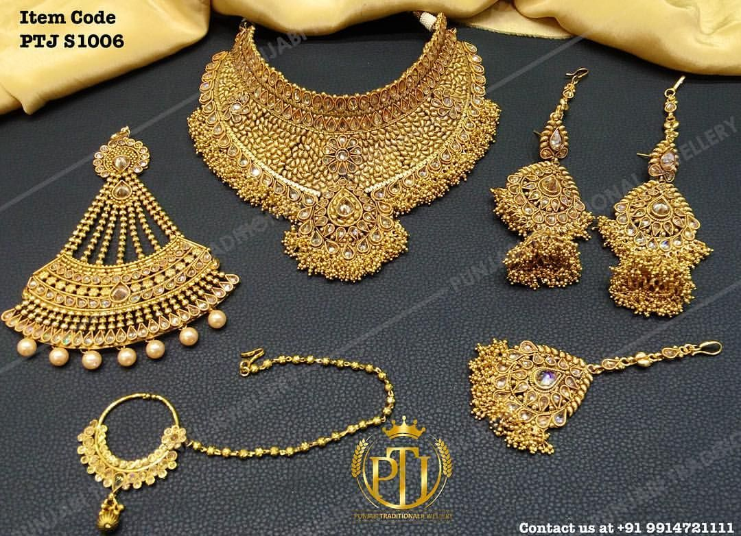 630 Likes, 17 Comments - Punjabi Traditional Jewellery ...