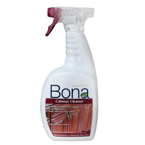 Bona Cabinet Cleaner - 36 oz Spray Bottle - Bona Cabinet ...