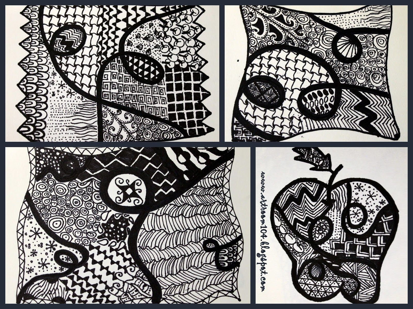 Art Elective Zentangle Unit