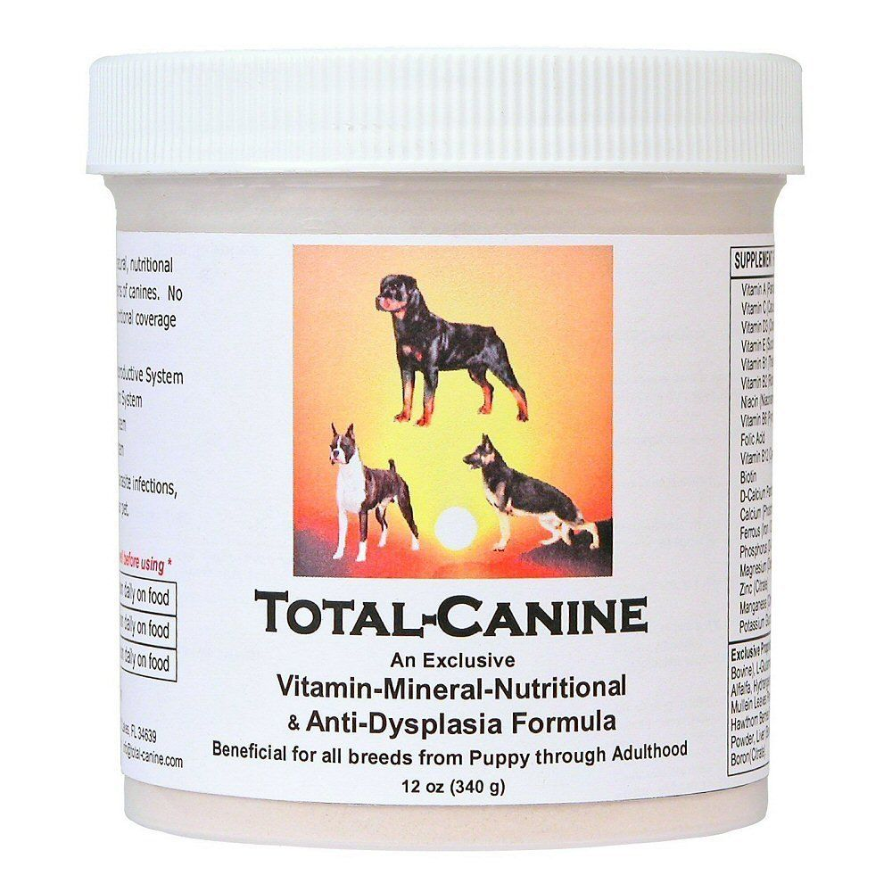 Total Canine Exclusive All Natural Nutritional Support Formula