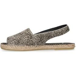 Photo of Slingback-Espadrilles mit Leopardenmuster (36,37,38,39,40,41,42) Manfield