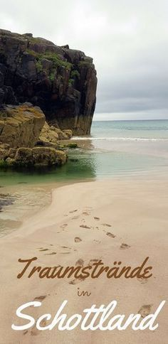 2 dream beaches in the north of Scotland  Discover 2 beautiful beaches in the Scottish Highlands You should not miss these two dream beaches