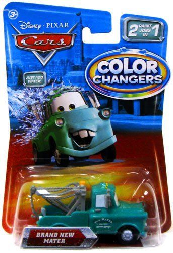 Disney Pixar Cars Movie 155 Cars Color Changers Brand New Mater
