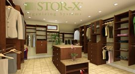 Great custom space design from Stor-X