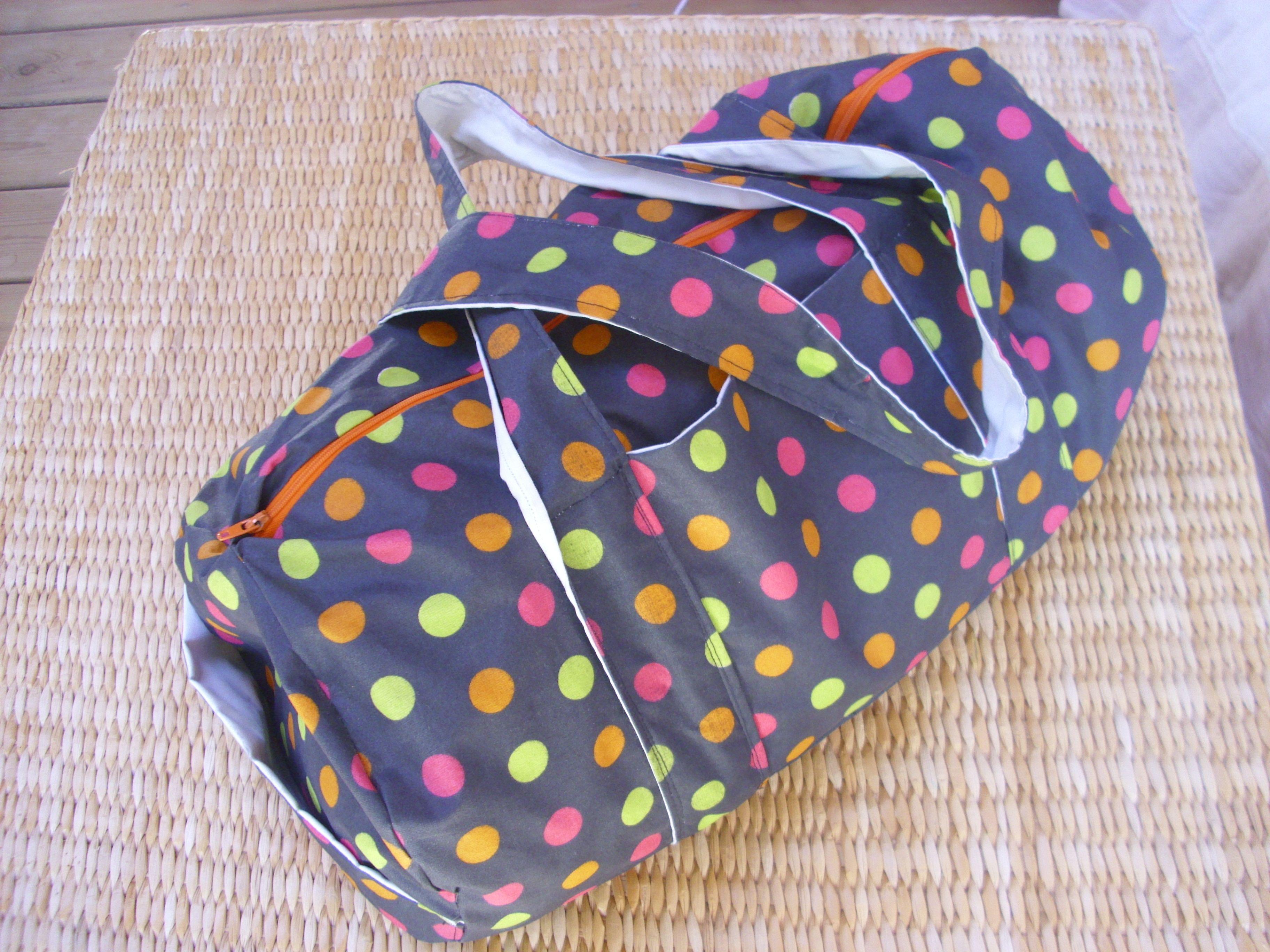 Tuto sac de sport couture diy pinterest sac de sport - Tuto sac de sport ...