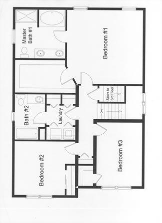 3 Bedroom Modular Home Floor Plans Rba Homes Modular Home Floor Plans Bedroom House Plans Bedroom Floor Plans