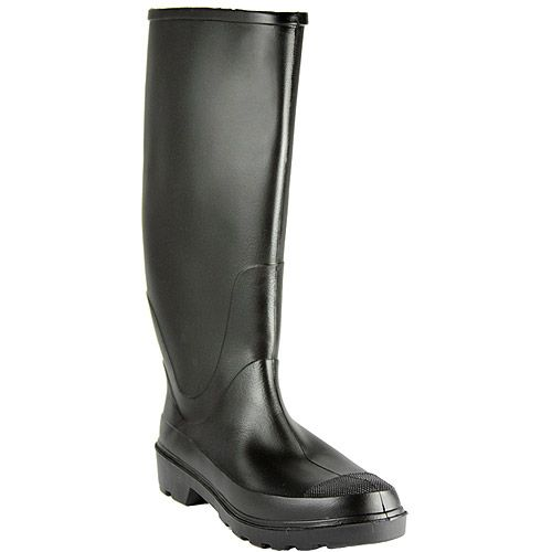 Black Rain Boots For Men - Boot End