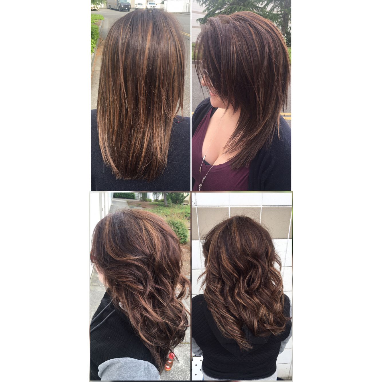 Beautiful Highlights And A Dark A Base Color For My Beautiful Client