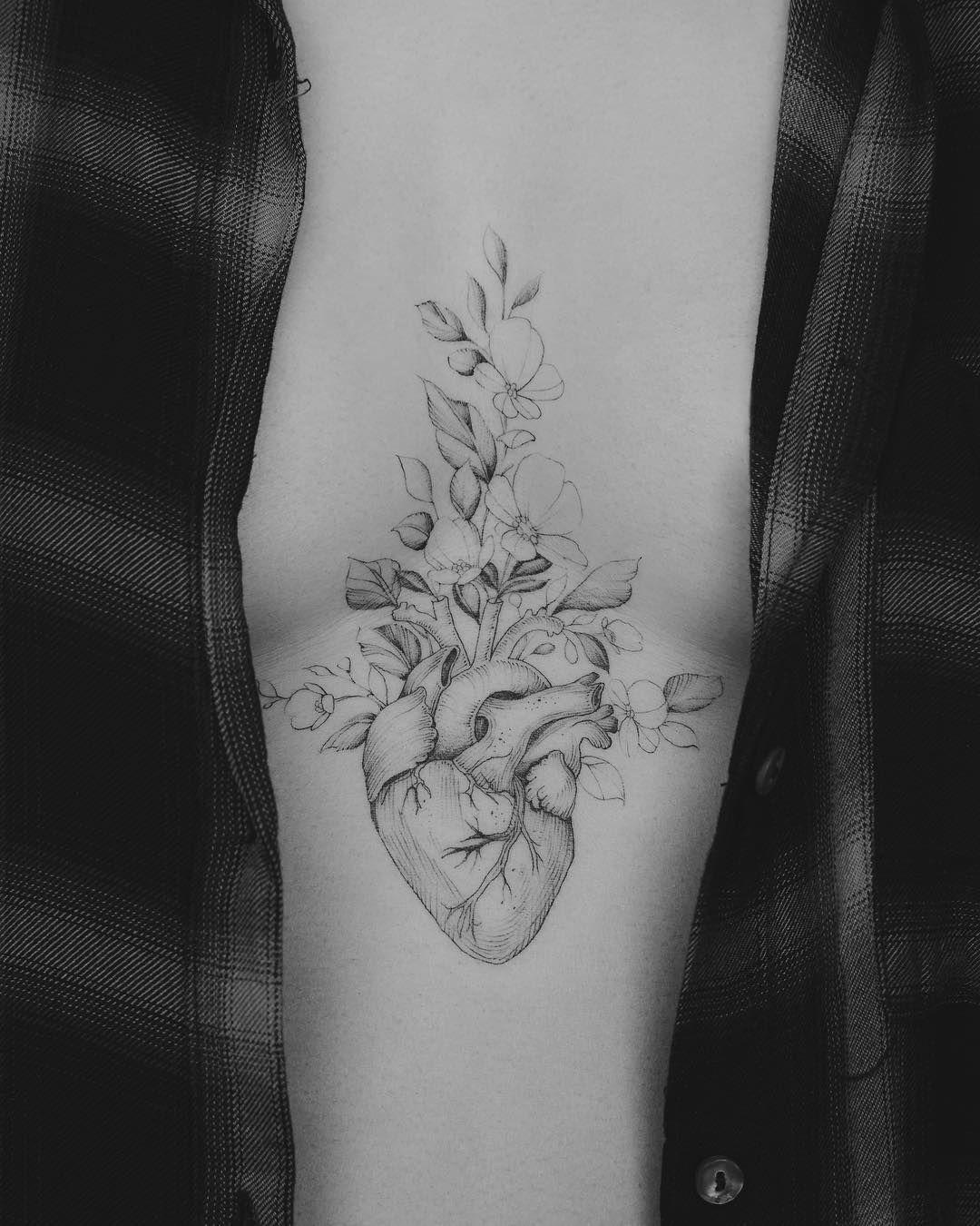 Tendance Tattoo 120 Conceptions Realistes De Tatouage De Coeur
