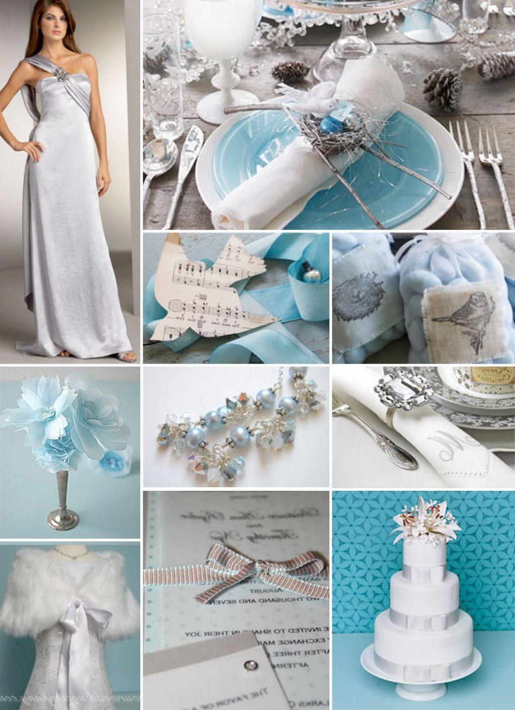 Baby Blue And Silver Wedding Ideas | Wedding Ideas