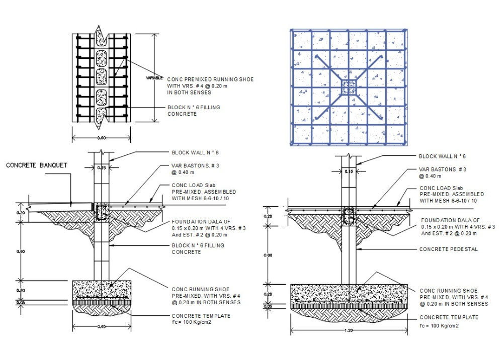 Footing Foundation Plan Autocad File Footing Foundation How To Plan Autocad