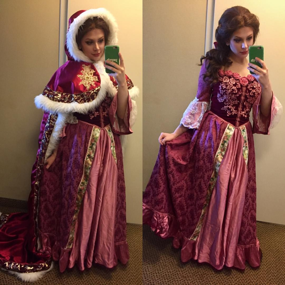 """217 Likes, 8 Comments - Hannah Éva (@hannaheva) on Instagram: """"Day 1 of Wizard World Minneapolis as Belle from Beauty and the Beast. #wizardworldminneapolis…"""""""