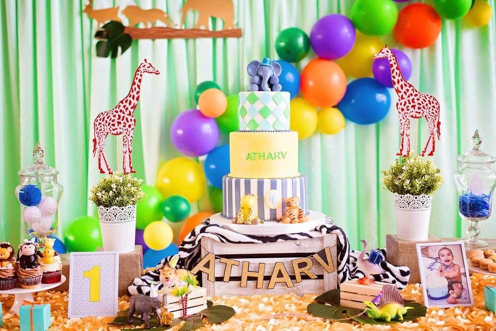 Party animals theme Birthday Party Ideas Animal birthday cakes
