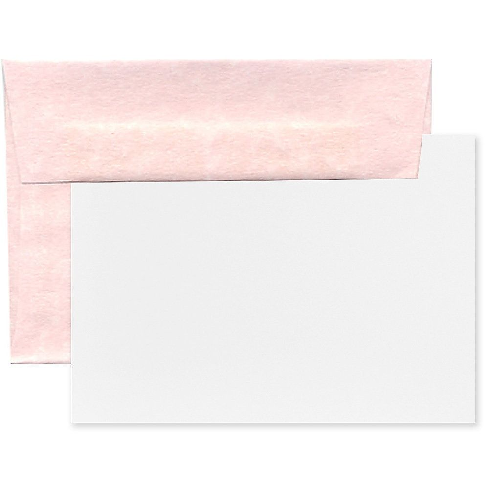 Jam Paper Stationery Set 4 3 4 X 6 1 2 30 Recycled Pink