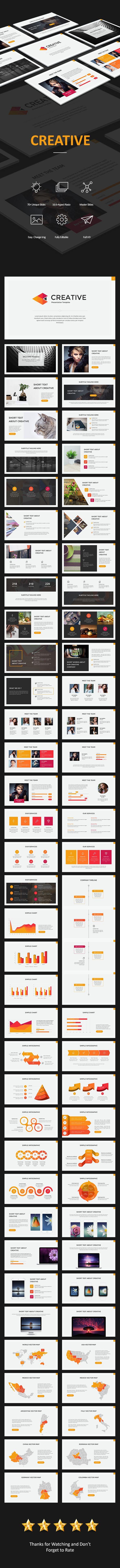 features 70 unique creative slides 400 vector icon animated
