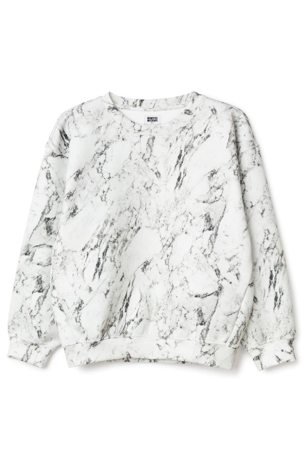 Win Bonded Marble Sweater | Weekday