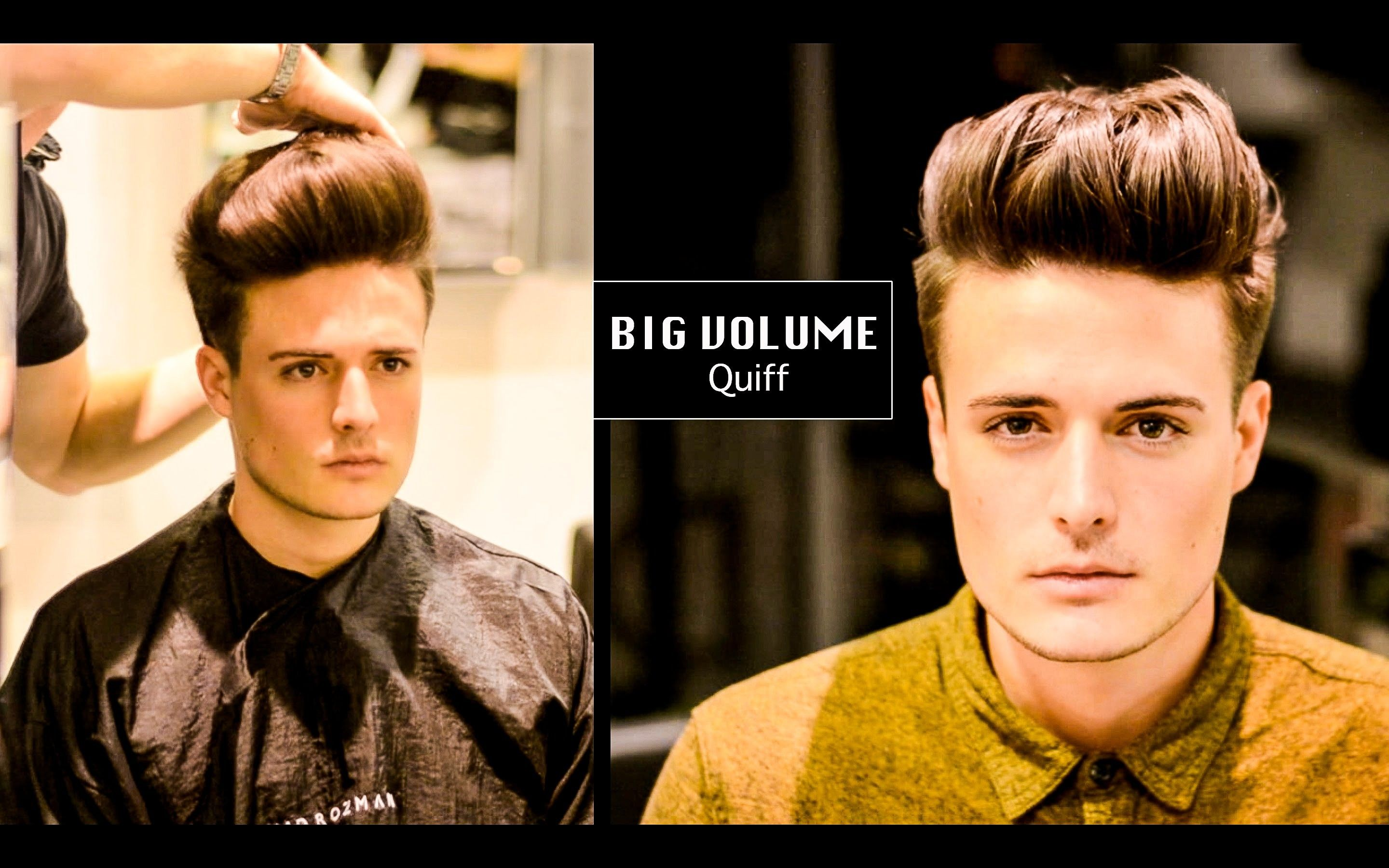 A Greatest Big Volume Quiff Mens Haircut And Hairstyle 2017 Download