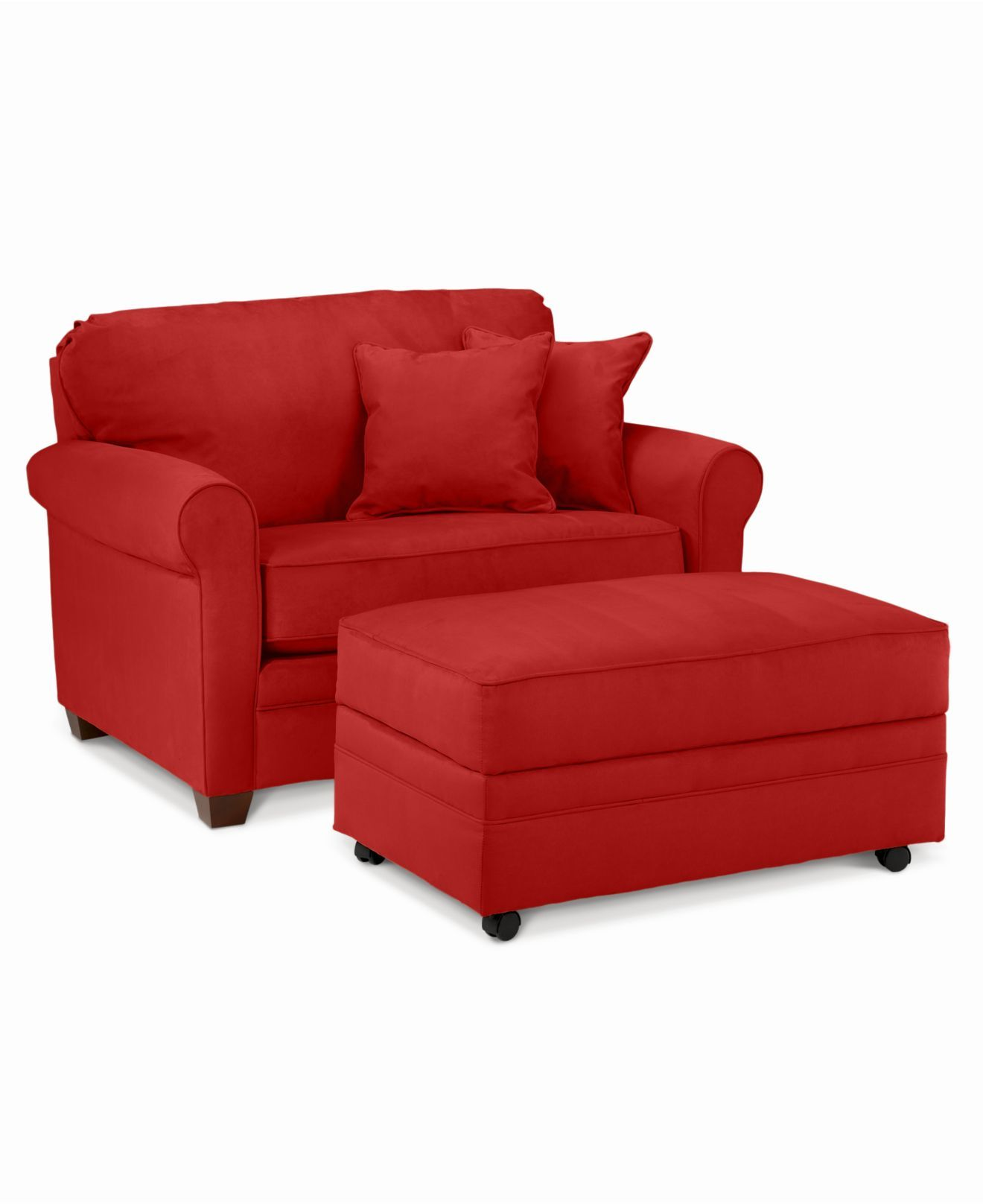 - Sasha Living Room Furniture, 2 Piece Sofa Set (Twin Sleeper And