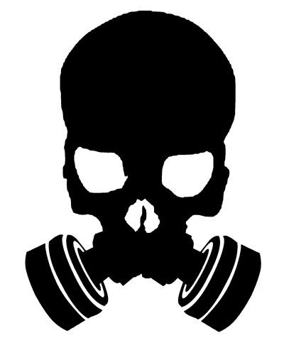 Skull Gasmask Logo Gas Mask Art Gas Mask Tattoo Gas Mask Drawing