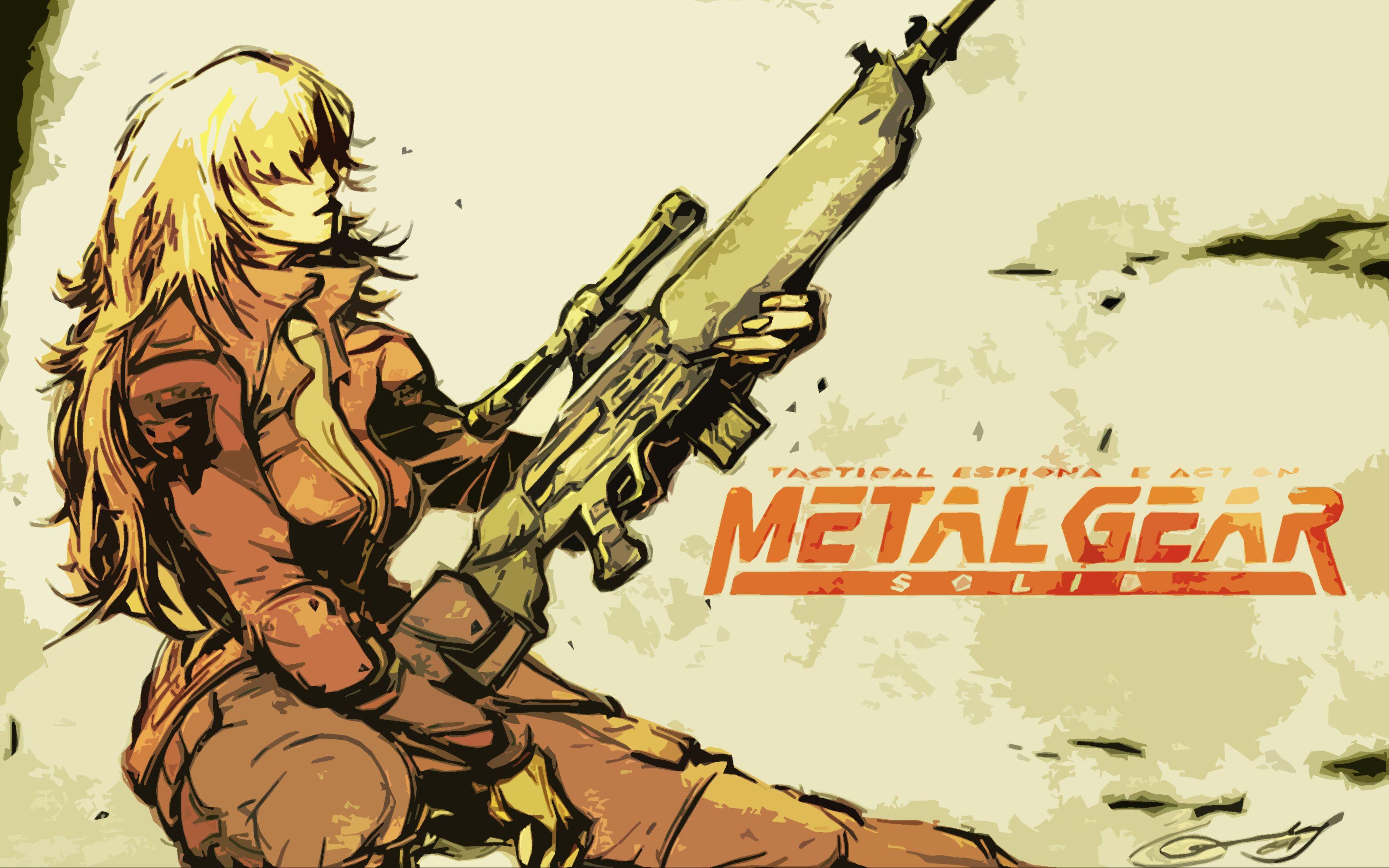 Metal Gear Solid Computer Wallpapers Desktop Backgrounds HD