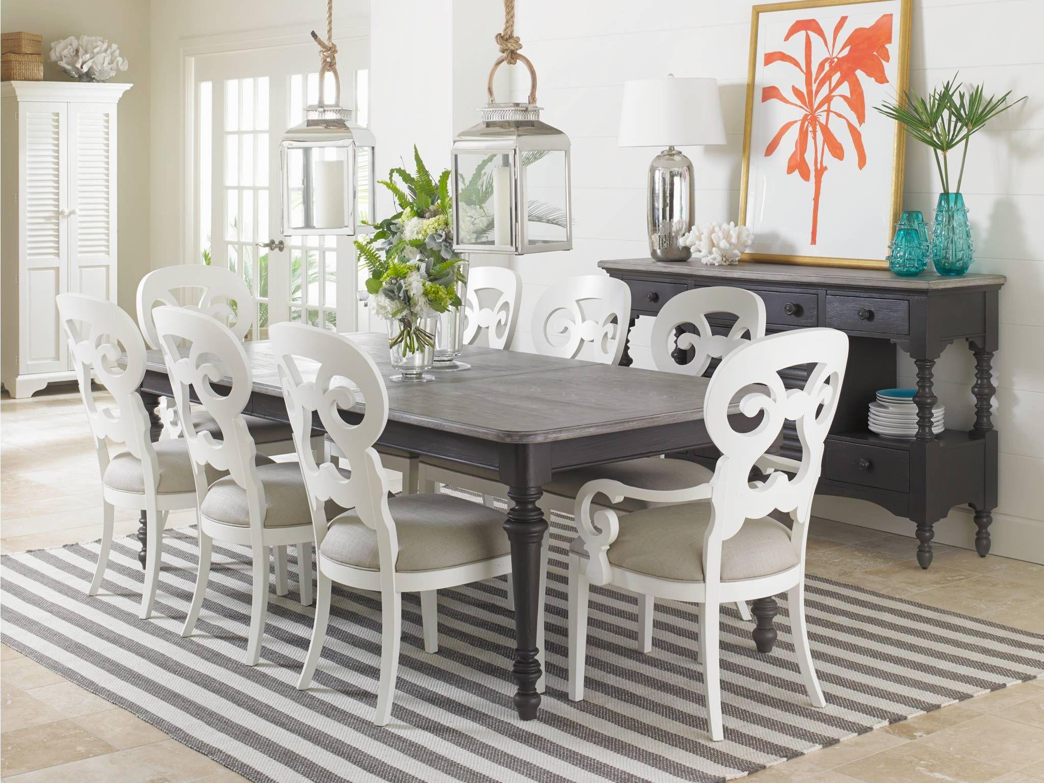 Unique Rs Natural Stanley Furniture Coastal Living Resort Dining Cool Coastal Living Dining Room Furniture 2018