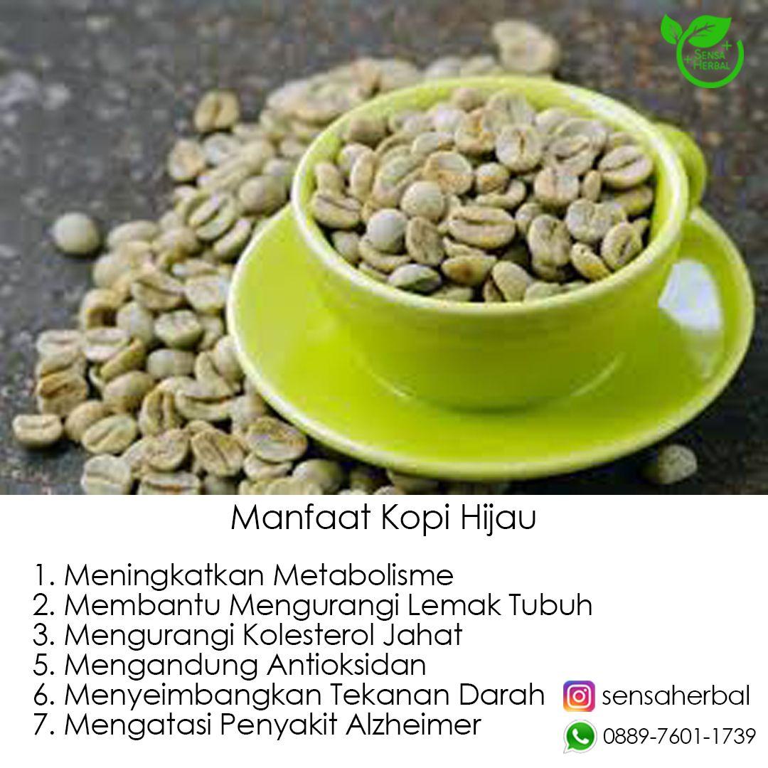 Green Coffee Bean adalah extract kopi hijau murni tanpa