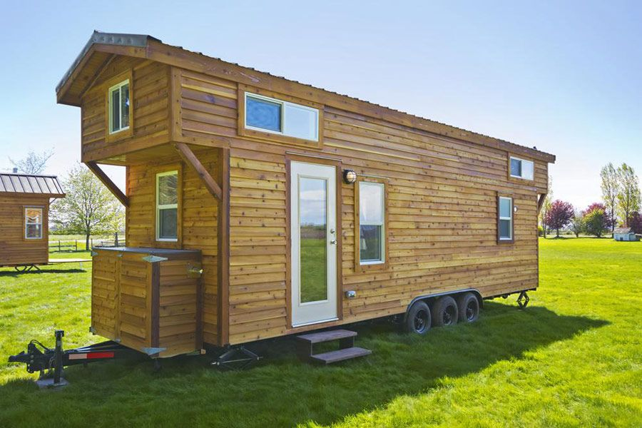 The loft tiny house swoon tiny houses tiny house Small homes with lofts