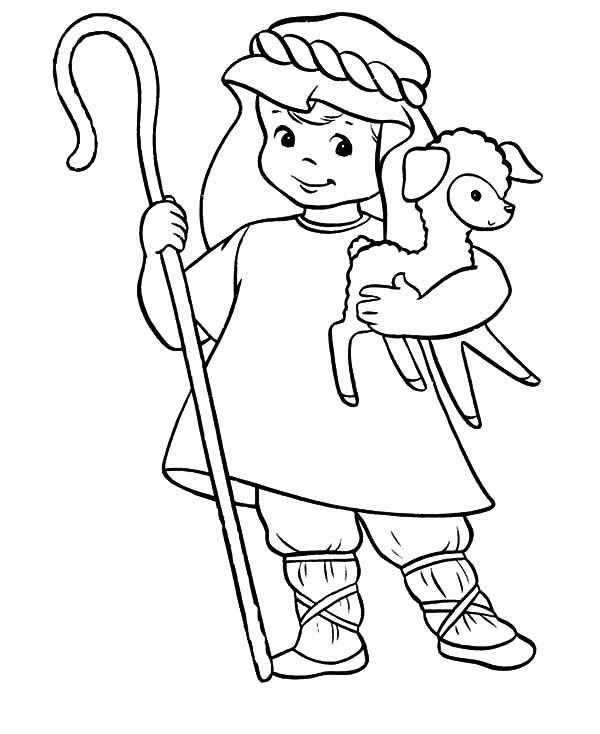 David The Shepherd Boy, : David the Shepherd Cute Boy ...