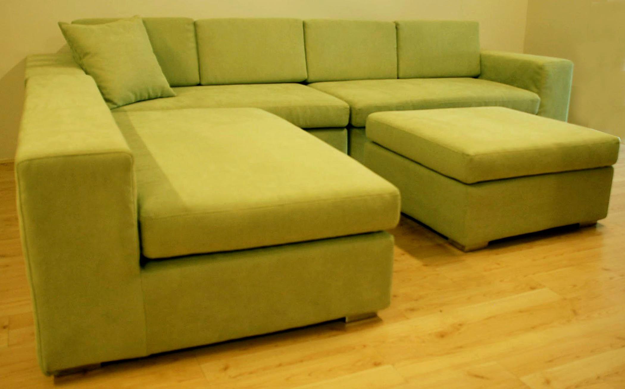 Unique Green Microfiber Sofa Green Microfiber Sofa Unique