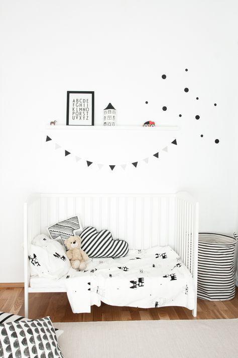 Lovely Market - News - chambre enfant noir et blanc Chambre enfant