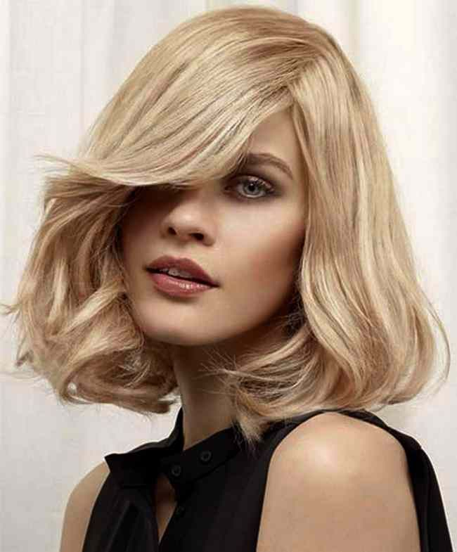 Shoulder Length Hairstyle With Bangs 2017 : Medium length haircuts trends fall winter 2016 2017: average cuts