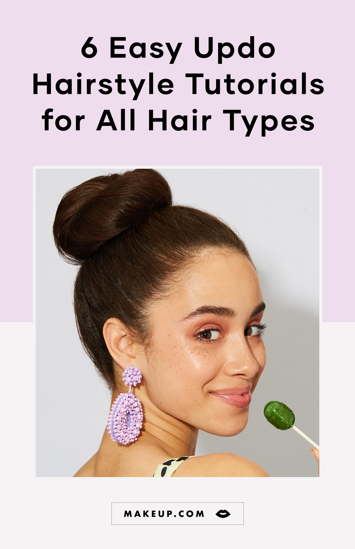 6 Easy Updo Hairstyle Tutorial Videos For All Hair Types Makeup Com By L Oreal In 2020 Easy Updo Hairstyles Tutorials Updo Hairstyles Tutorials Hair Updos