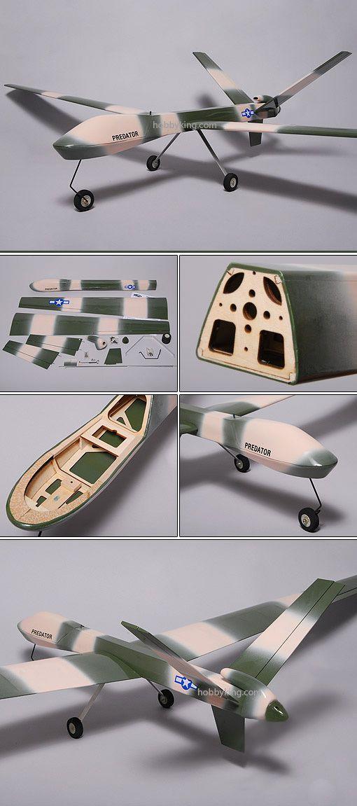 Predator Drone RC Model | Radio Control Cars | Uav drone