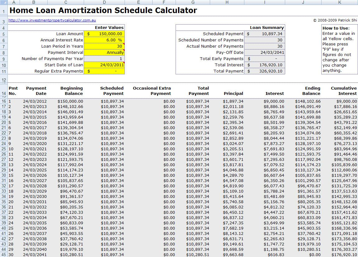 Mortgage Payment Table Spreadsheet Mortgage Amortization Mortgage Amortization Calculator Mortgage Comparison Mortgage loan amortization spreadsheet