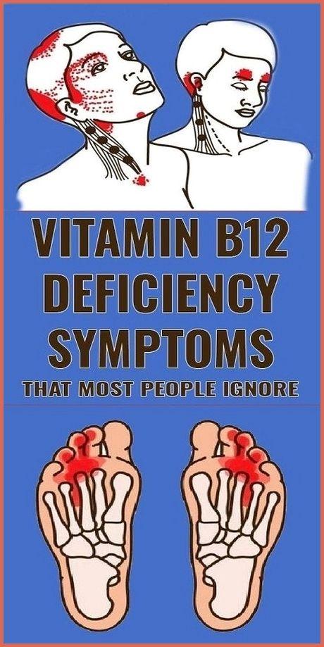 5 Symptoms Of Vitamin B12 Deficiency 5 warning sig