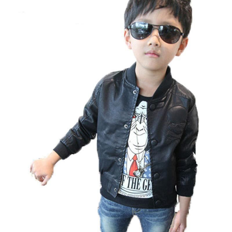 da3c0db5f095 Click to Buy    New 2017 Spring Fashion Baby Boy Clothes Faux ...