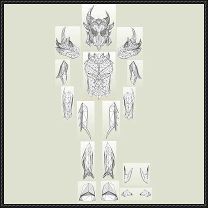The elder scrolls v skyrim full daedric armor free papercraft the elder scrolls v skyrim full daedric armor free papercraft download http pronofoot35fo Image collections