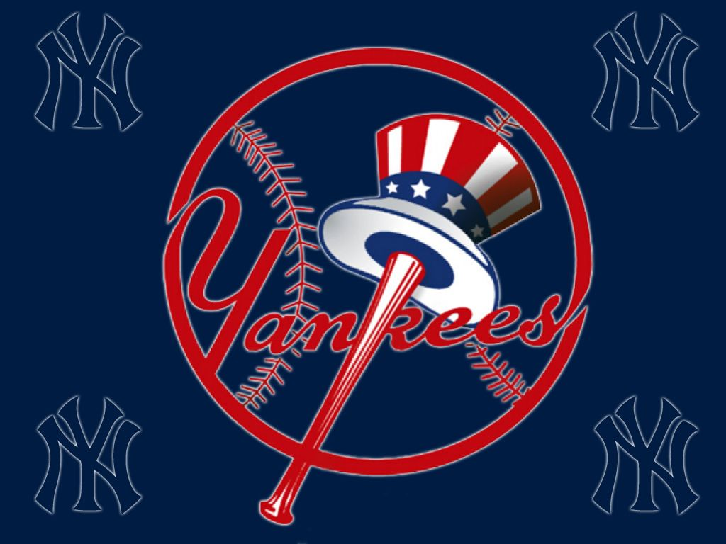 New York Yankees Logo Wallpaper Best Wallpaper Hd New York Yankees Logo Yankees Logo Yankees Pictures