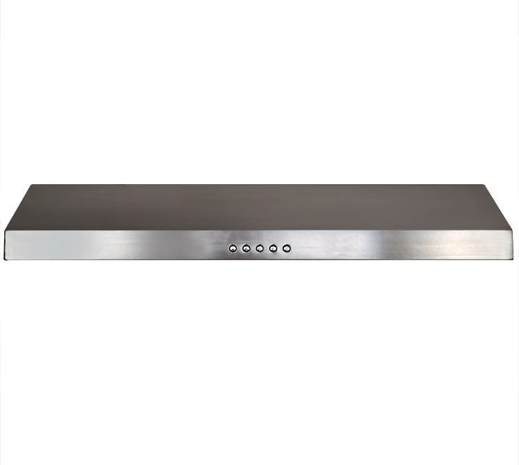 Good Slim Under Cabinet Range Hood Noise Level (dB / Sone): Approximately 40 /  To 65 / (lowest To Highest Speed)