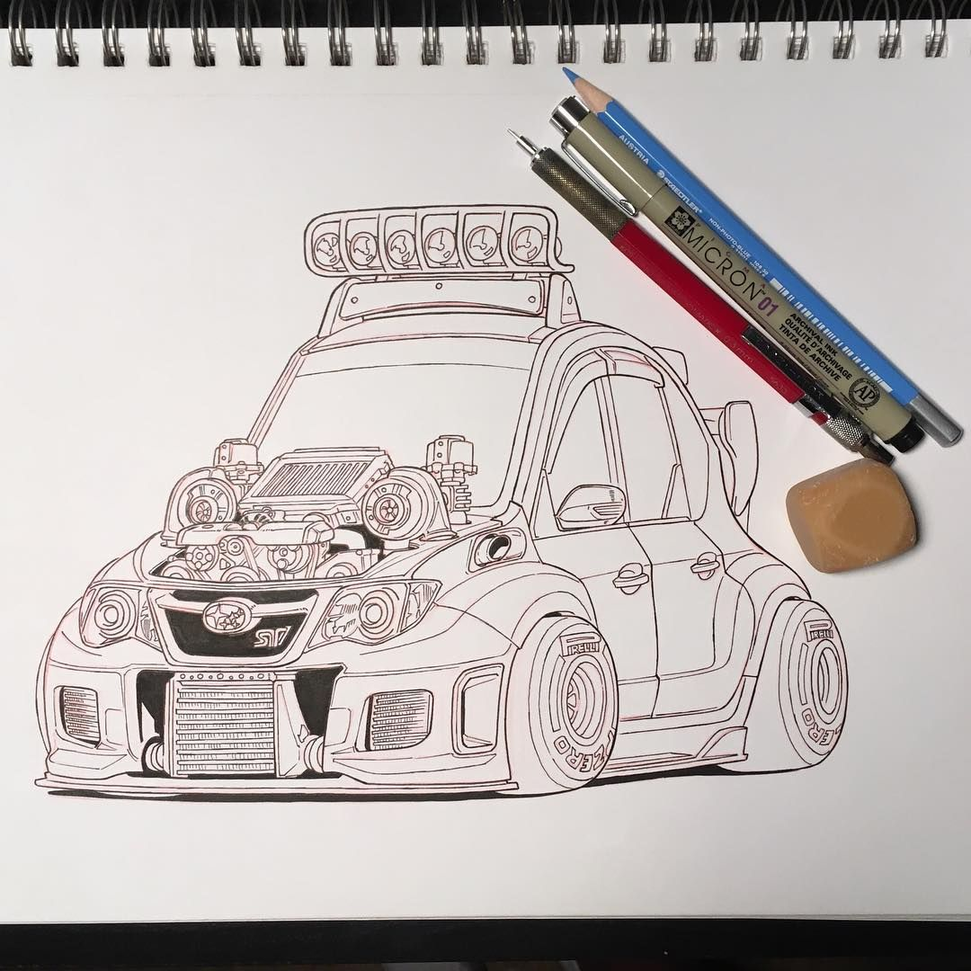 Subis Like Subaru Sti Twinturbo Turbocharged Jdm