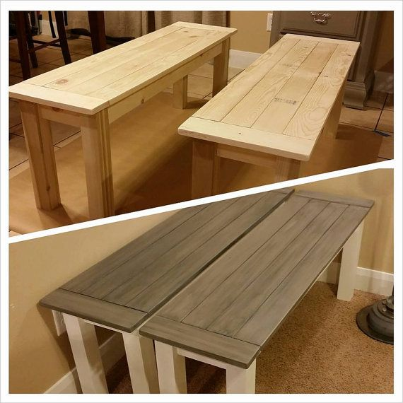 Custom Wood Benches Made To Order In 2018 Products Pinterest