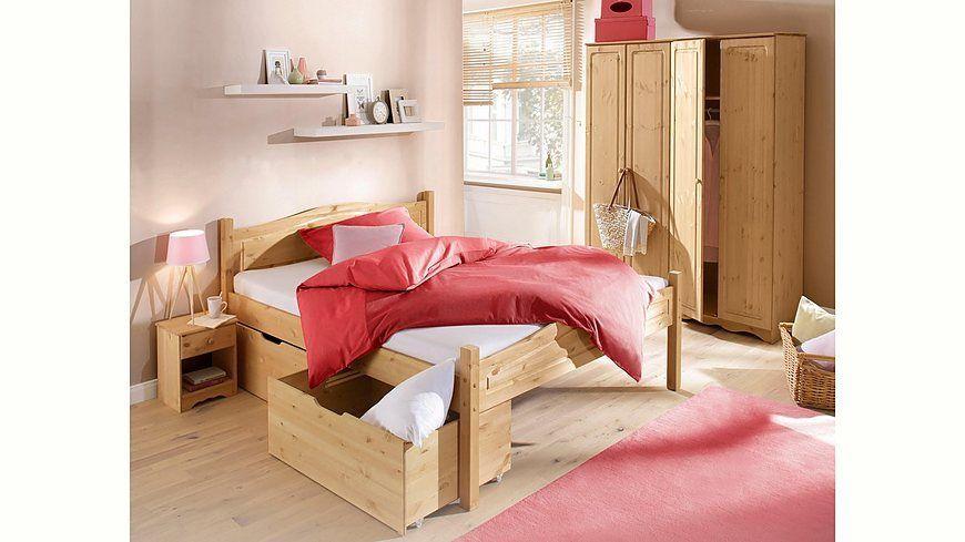 Home affaire 3-teiliges Schlafzimmer-Set »Emden«, Bett 90/200