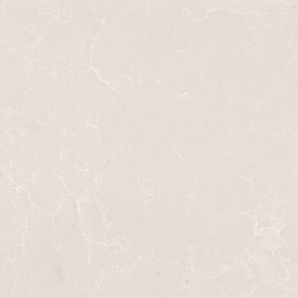 PERLA WHITE QUARTZ. This is the new color at MSI Houston I saw and