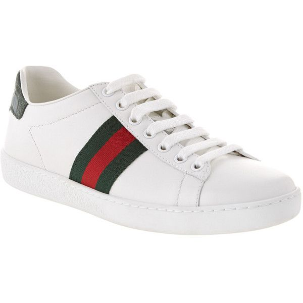 Gucci Ace Low-Top Leather Sneaker ($490
