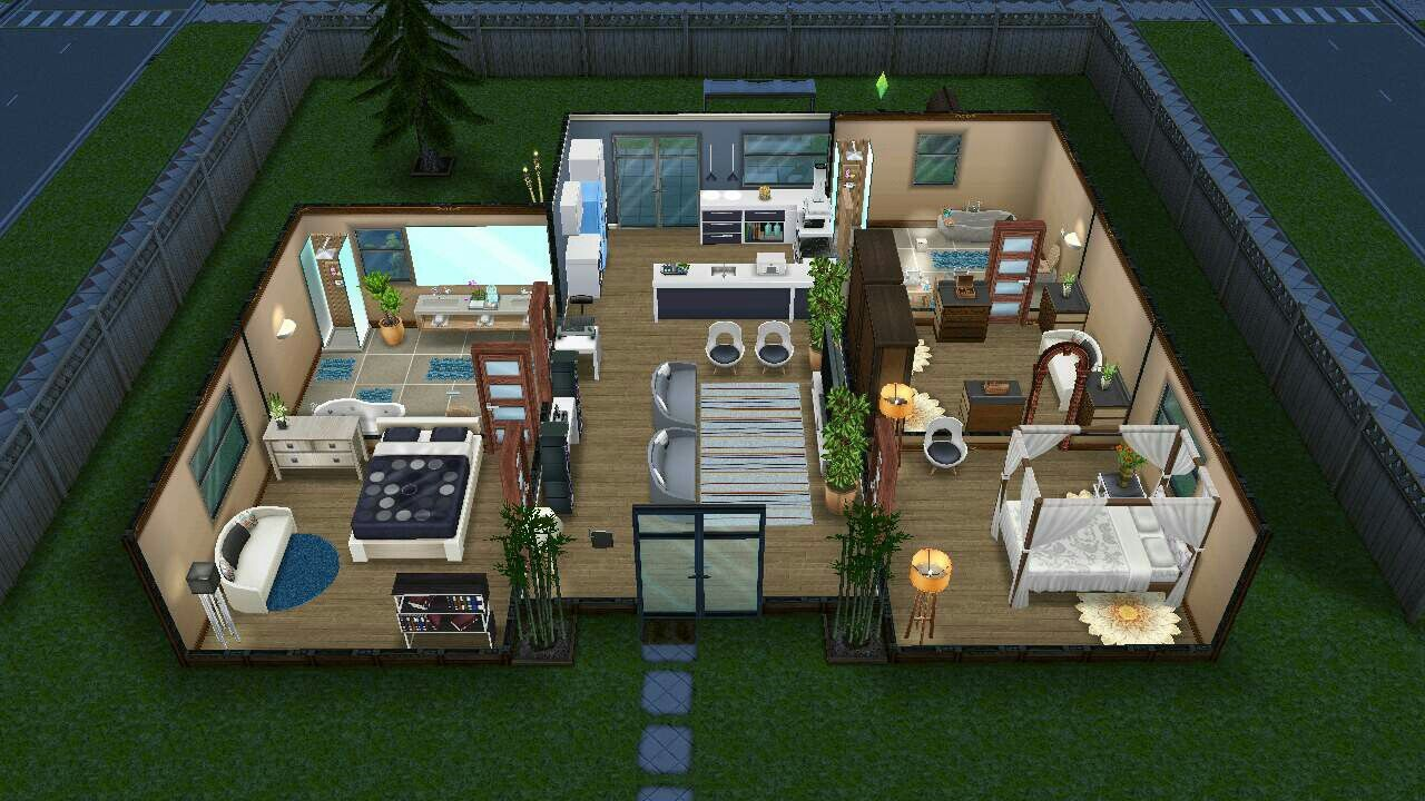 Pin On Sims Freeplay House Ideas