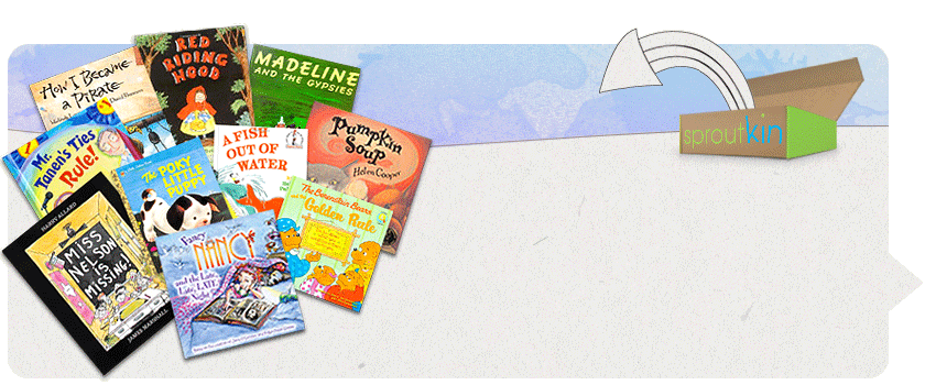 children's books by mail sproutkin 25 bucks a month