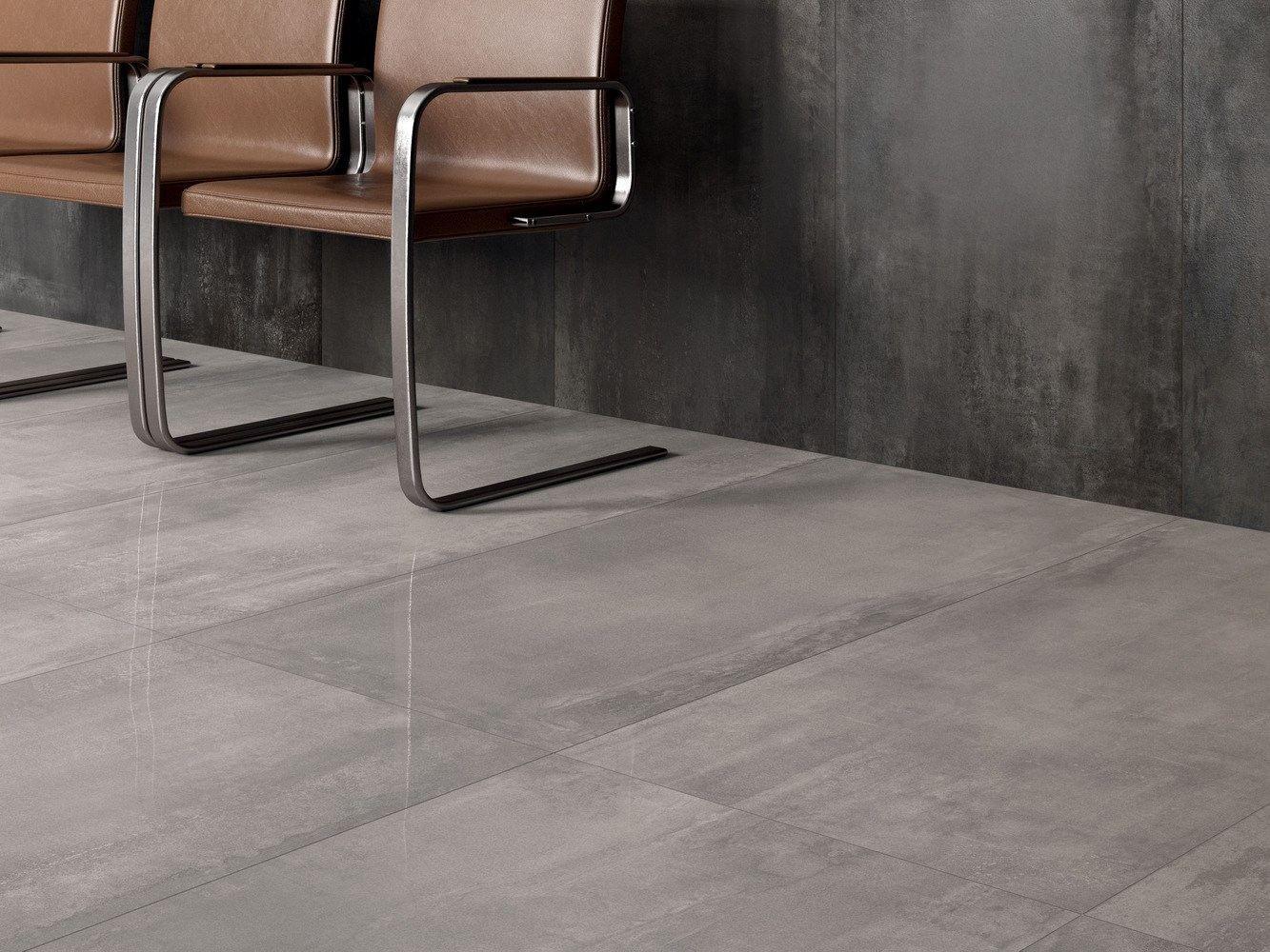 Pavimento/rivestimento in gres porcellanato INTERNO 9 by ABK ...