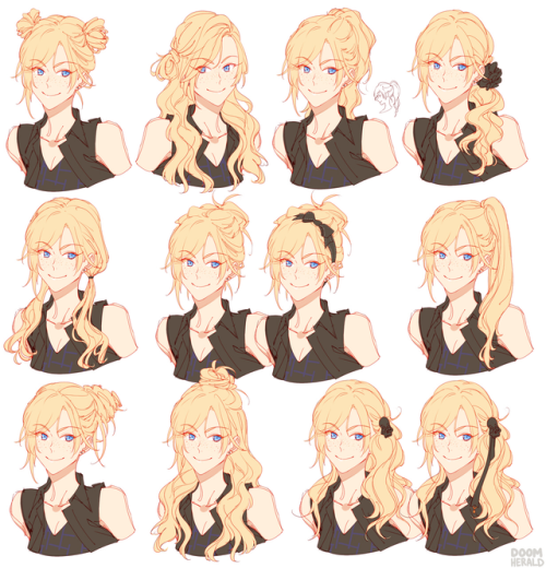 Image Result For Anime Side Braid Other Ideas Pinterest Final