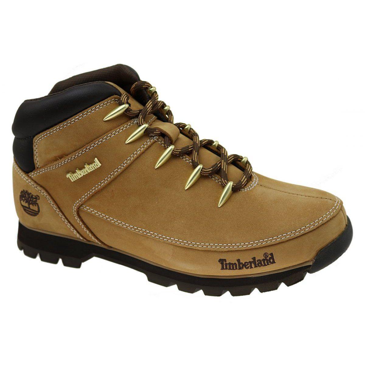 Buty Zimowe Timberland Euro Sprint Hiker M A122i Brazowe Winter Shoes Timberland Euro Timberland Winter Boots